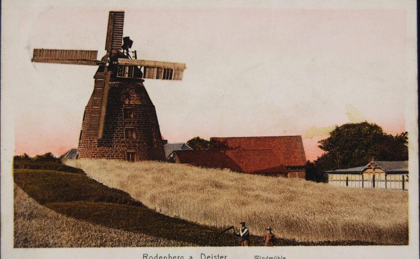 Die Ursprünge der Rodenberger Windmühle.