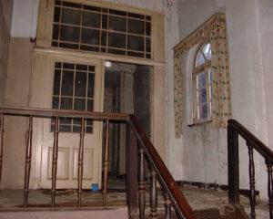 Treppenaufgang zur ersten Etage, der Stadtverwaltung